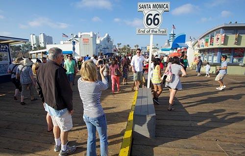 Cau cang Santa Monica Pier 2
