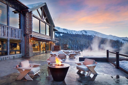 Khu truot tuyet Yellowstone Club My 1